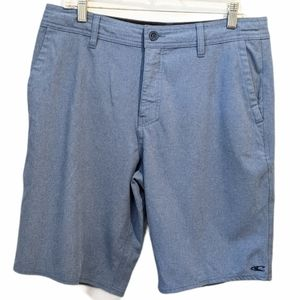 O'Neill men's blue hybrid shorts sz 32